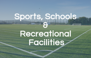 Sports, Schools and Recreational Facilities
